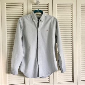 Ralph Lauren Striped Button Down Dress Shirt